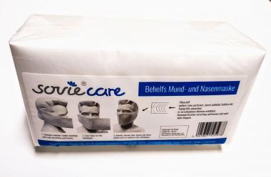 """60x Einweg Mund- und Nasenmaske """"made in Germany"""" FSC zertifiziert, kompostierbar"""
