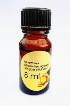 8ml naturreines ätherisches Ingweröl
