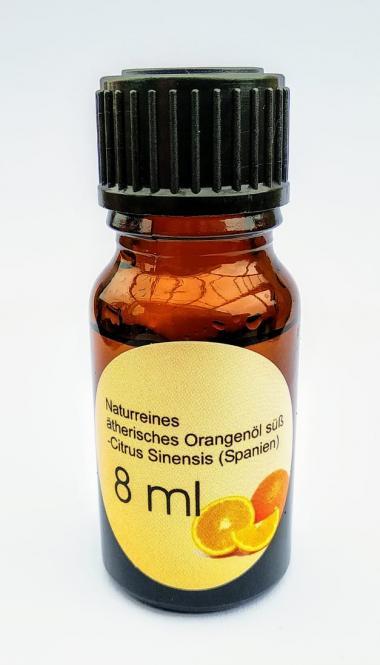8ml naturreines ätherisches Orangenöl
