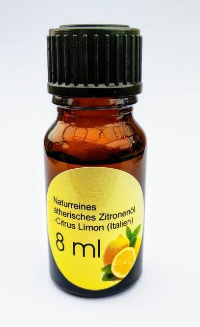 8ml naturreines ätherisches Zitronenöl